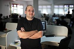 """Marcio Coelho, lidera equipes que atuam em projetos de """"Digital Branding"""" para algumas das maiores empresas do Brasil na GAD Brivia, em Novo Hamburgo. FOTO: Jefferson Bernardes/Preview.com"""