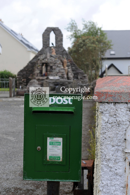 A rural postbox beside the church in The village of Dungegan, Ballinskelligs, County Kerry, Ireland..Picture by Don MacMonagle