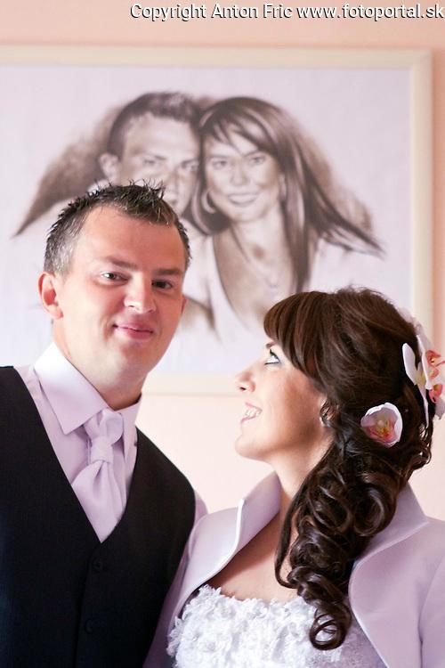 Svadobne fotografiu Moniky a Juraja zo Ziliny.