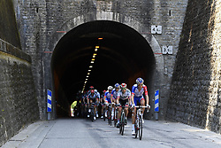July 20, 2018 - Valence, France - VALENCE, FRANCE - JULY 20 : Illustration picture of the riders during stage 13 of the 105th edition of the 2018 Tour de France cycling race, a stage of 169.5 kms between Bourg d'Oisans and Valence on July 20, 2018 in Valence, France, 20/07/2018 (Credit Image: © Panoramic via ZUMA Press)
