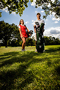 Evan Scholar Caddies photographed at Medinah CC on August 18, 2020<br /> WGAESF/Charles Cherney Photography