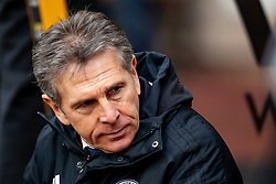 January 19, 2019 - Wolverhampton, England, United Kingdom - Claude Puel Manager of Leicester City during the Premier League match between Wolverhampton Wanderers and Leicester City at Molineux o Saturday 19th January 2019. (Credit Image: © Mark Fletcher/NurPhoto via ZUMA Press)