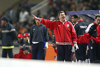 Fotball<br /> African Nations Cup 2004<br /> Foto: Digitalsport<br /> Norway Only<br /> <br /> 1/2 FINAL - 040211 - TUNISIA v NIGERIA<br /> <br /> ROGER LEMERRE (TUNISIAN COACH)