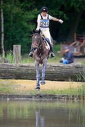 Donckers Karin (BEL) - Maxwell Steel<br /> Nationaal Kampioenschap LRV  Minderhout 2009<br /> CIC** Minderhout 2009<br /> Photo © Dirk Caremans