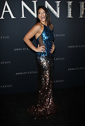 Premiere Of Paramount Pictures Annihilation - Los Angeles. 13 Feb 2018 Pictured: Gina Rodriguez. Photo credit: Jaxon / MEGA TheMegaAgency.com +1 888 505 6342