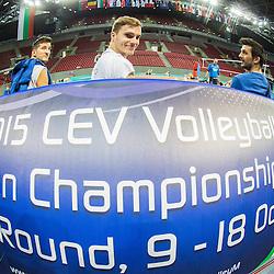 20151017: BUL, Volleyball - 2015 CEV Volleyball European Championship Men, Team Slovenia