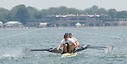 2005 FISA World Cup, Dorney Lake, Eton, ENGLAND, 27.05.05. GBR M4X Matt Langridge.[Mandatory Credit Peter Spurrier/ Intersport Images] Rowing Course, Dorney Lake