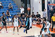 THOUSAND OAKS, CA Sunday, August 12, 2018 - Nike Basketball Academy. De'Vion Harmon 2019 #12 of John H. Guyer HS shoots. <br /> NOTE TO USER: Mandatory Copyright Notice: Photo by John Lopez / Nike