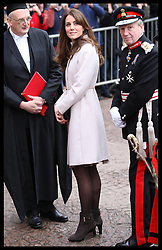 The Duchess of Cambridge arriving at the Senate House, Cambridge, Wednesday , 28th November 2012. .Photo by: Stephen Lock / i-Images
