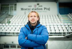Nastja Ceh, Slovenian Football player and manager of NK Drava Ptuj posing, on January 5, 2015 in Mestni station Ptuj, Slovenia.  Photo by Vid Ponikvar / Sportida