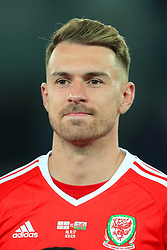 Wales' Aaron Ramsey during the 2018 FIFA World Cup Qualifying, Group D match at the Boris Paichadze Dinamo Arena, Tbilisi. PRESS ASSOCIATION Photo. Picture date: Friday October 6, 2017. See PA story SOCCER Georgia. Photo credit should read: Tim Goode/PA Wire. RESTRICTIONS: Editorial use only, No commercial use without prior permission.