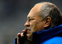 Photo: Jed Wee/Sportsbeat Images.<br /> Newcastle United v Tottenham Hotspur. The FA Barclays Premiership. 22/10/2007.<br /> <br /> Tottenham manager Martin Jol wears a pained expression before kick off.