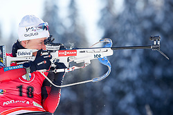 Tiril Eckhoff of Norway competes during the IBU World Championships Biathlon Women's 7,5 km Sprint Competition on February 13, 2021 in Pokljuka, Slovenia. Photo by Primoz Lovric / Sportida