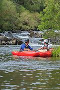 Canoe adventure in the Barrington Tops, Hunter Valley, NSW, Australia