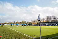 Maidenhead United prepare for their match against Portsmouth during the The FA Cup 1st round match between Maidenhead United and Portsmouth at York Road, Maidenhead, United Kingdom on 10 November 2018.