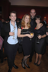 Left to right, SCOTT DOUGLAS, JERRY HALL, RORY McCANN and TRACEY EMIN at the Lighthouse Gala Auction in aid of the Terence Higgins Trust held at Christie's, St.James's, London on 12th March 2007.<br /><br />NON EXCLUSIVE - WORLD RIGHTS