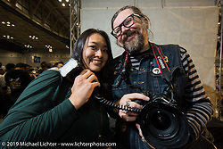 Annual Mooneyes Yokohama Hot Rod and Custom Show. Japan. Sunday, December 7, 2014. Photograph ©2014 Michael Lichter.