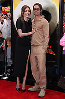 5/22/2011 Angeline Jolie and Brad Pitt at the premiere of Kung Fu Panda 2 at the Chinese Theater
