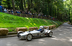 Boness Revival hillclimb motorsport event in Boness, Scotland, UK. The 2019 Bo'ness Revival Classic and Hillclimb, Scotland's first purpose-built motorsport venue, it marked 60 years since double Formula 1 World Champion Jim Clark competed here.  It took place Saturday 31 August and Sunday 1 September 2019. 50. Douglas Anderson. Jeffrey Mk3b
