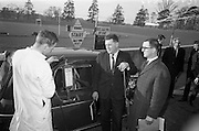 17/3/1966<br /> 3/17/1966<br /> 17 March 1966<br /> <br /> <br /> Mr. O'Shea of Bantry in the Renault 4L Economy Run Contest