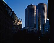 Towers of International Park, Boston, Massachusetts.