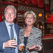 NLD/Amsterdam/20150511 - Jon van Eerd en Ton Fieren vieren hun 35jarig partnerschap, Andre van Duin en Simone Kleinsma