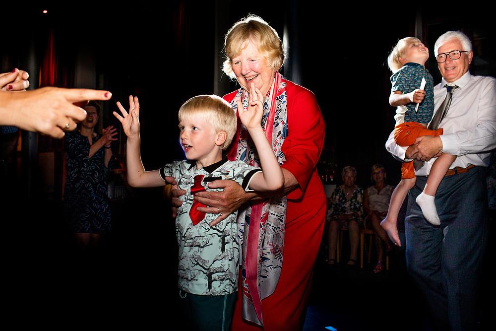 Huwelijksdag Joke en Willem in zaal Stuk in Leuven