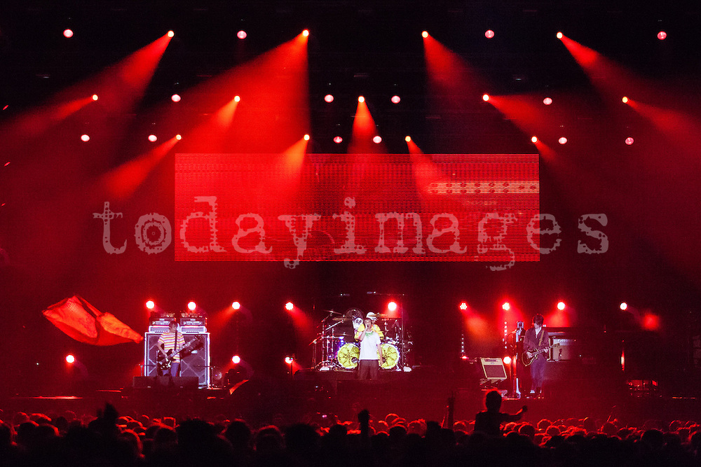 The Stone Roses at the Benicassim Festival 2012