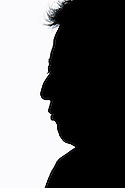 Mardonio's silhouette. Mardonio Carballo is a mexican artist, journalist and cultural promoter. His work, rooted in an indigenist spirit without extremism and passing through the Nahuatl and Spanish languages, has been an important tool in order to bring to the public's eye the situation of Mexico's native peoples, their languages and culture.