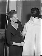 18 Year old dress designer, first fashion show Clodagh Phibbs, at Hibernian. <br />