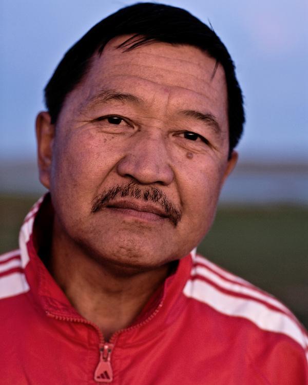 Portraits of a Mongolian Man