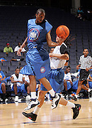 PG Anthony Crater (Flint, MI / Southwestern Academy) gets the rebound during the NBA Top 100 Camp held Friday June 22, 2007 at the John Paul Jones arena in Charlottesville, Va. (Photo/Andrew Shurtleff)