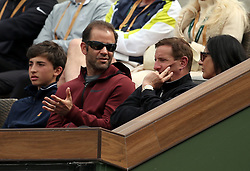 INDIAN WELLS, CA - MARCH 10:  Pete Sampras on Day 10 of the BNP Paribas Open at the Indian Wells Tennis Garden on March 10 2019 in Indian Wells, California...People:  Pete Sampras (Credit Image: © SMG via ZUMA Wire)