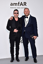 Julian Lennon and Kevin Robert Frost attend the amfAR Cannes Gala 2019 at Hotel du Cap-Eden-Roc on May 23, 2019 in Cap d'Antibes, France. Photo by Lionel Hahn/ABACAPRESS.COM