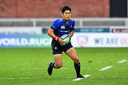 Rikiya Matsuda of Japan in action <br /> <br /> Photographer Craig Thomas<br /> <br /> Japan v Russia<br /> <br /> World Copyright ©  2018 Replay images. All rights reserved. 15 Foundry Road, Risca, Newport, NP11 6AL - Tel: +44 (0) 7557115724 - craig@replayimages.co.uk - www.replayimages.co.uk