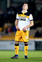 Ryan Taylor of Port Vale looks frustrated - Mandatory by-line: Robbie Stephenson/JMP - 20/01/2017 - FOOTBALL - Vale Park - Stoke-on-Trent, England - Port Vale v Bury - Sky Bet League One