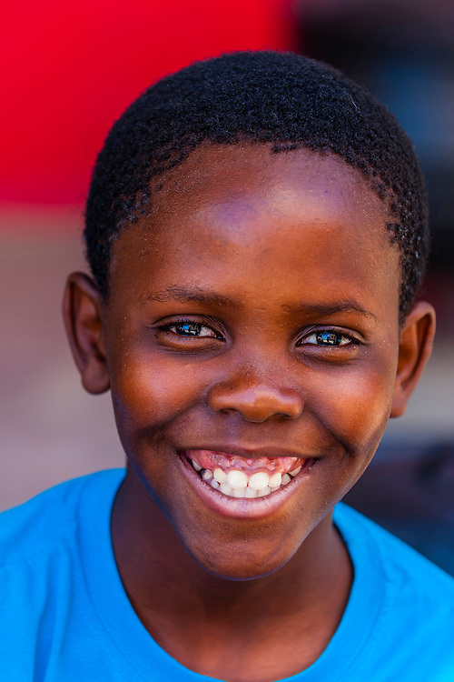 South African Boy, Orlando Towers, Soweto, Johannesburg, South Africa.