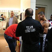 "during the ""Boxeo Telemundo"" boxing match at the Kissimmee Civic Center on Friday, March 14, 2014 in Kissimmme, Florida. (Photo/Alex Menendez)"