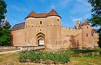 France, Cher (18), Berry, le château d'Ainay-le-Vieil, route Jacques Coeur,// France, Cher (18), Berry, château d'Ainay-le-Vieil castle, the Jacques Coeur road
