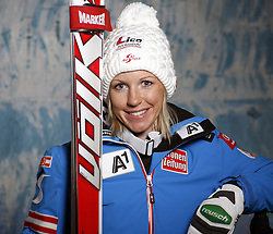 20.10.2012, Messehalle, Innsbruck, AUT, OeSV, Ski Alpin, Fototermin, im Bild Regina Sterz (OeSV, Skirennlaeuferin) // during the official Portrait and Teamshooting of the Austrian Ski Federation (OeSV) at the Messehalle, Innsbruck, Austria on 2012/10/20. EXPA Pictures © 2012, PhotoCredit: EXPA/ OeSV/ Erich Spiess