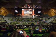 20th International AIDS Conference (AIDS 2014), run by the International AIDS Society at the Exhibition Centre, Melbourne, Australia. <br /> Photo shows the Opening Session. <br /> Photo: International AIDS Society/Steve Forrest