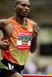 New Balance Indoor Grand Prix track meet: Men's 3000 meter, Dejen Gebremeskel