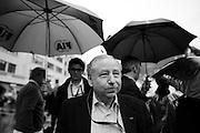 May 25-29, 2016: Monaco Grand Prix. Jean Todt, president of the FIA.