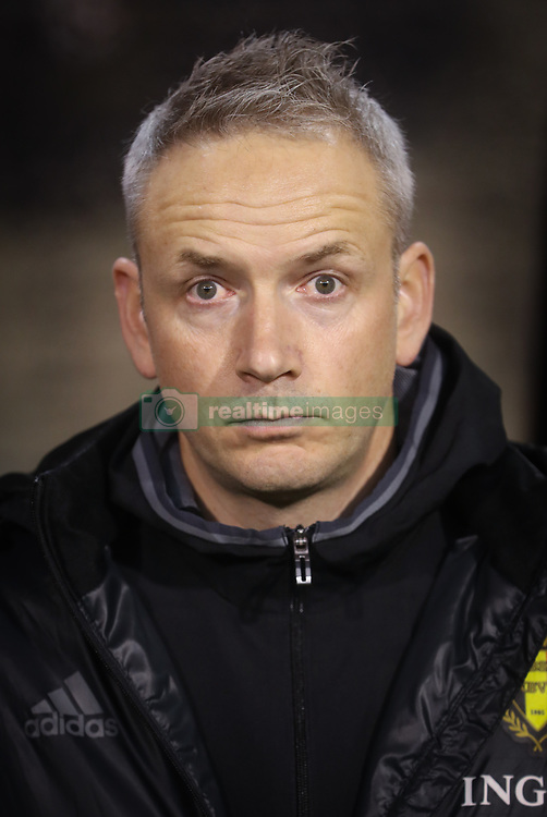 November 10, 2017 - Bruxelles, BELGIUM - Belgium's physical therapist Geert Neirynck pictured at the start of a friendly soccer game between Belgian national team Red Devils and Mexico, Friday 10 November 2017, in Brugge. BELGA PHOTO VIRGINIE LEFOUR (Credit Image: © Virginie Lefour/Belga via ZUMA Press)