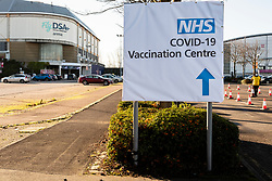 Sheffield Arena opens as a COVID-19 Vaccination Centre The Venue  has been transformed into Sheffields newest NHS vaccination centre opening for business at 10:00AM on Monday 25th of January. <br /> Sheffield Teaching Hospitals trust will run the centre and it is set to be open 7 days a week. <br /> <br /> 25 January 2021<br /> <br /> www.pauldaviddrabble.co.uk<br /> All Images Copyright Paul David Drabble - <br /> All rights Reserved - <br /> Moral Rights Asserted -