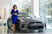 MEXICO CITY, MEXICO - AUGUST 14, 2017: Portrait of Mayra Gonzalez, Managing Director of Nissan Mexico. Rodrigo Cruz for The New York Times