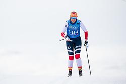 April 6, 2018 - Alta, NORWAY - 180406 Karoline Simpson-Larsen competes in the Women's 5 km Classic during the Norwegian Championship on April 6, 2018 in Alta..Photo: Jon Olav Nesvold / BILDBYRÃ…N / kod JE / 160235 (Credit Image: © Jon Olav Nesvold/Bildbyran via ZUMA Press)