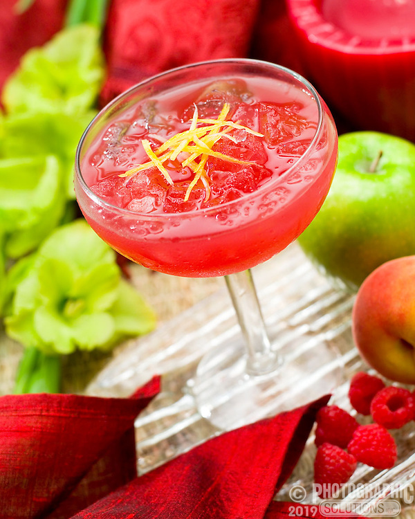 Sangria with apples