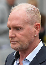 File photo dated 29/06/16 of former England footballer Paul Gascoigne who has been charged with one count of sexual assault by touching after an incident on a train from York to Durham on August 20, British Transport Police said.