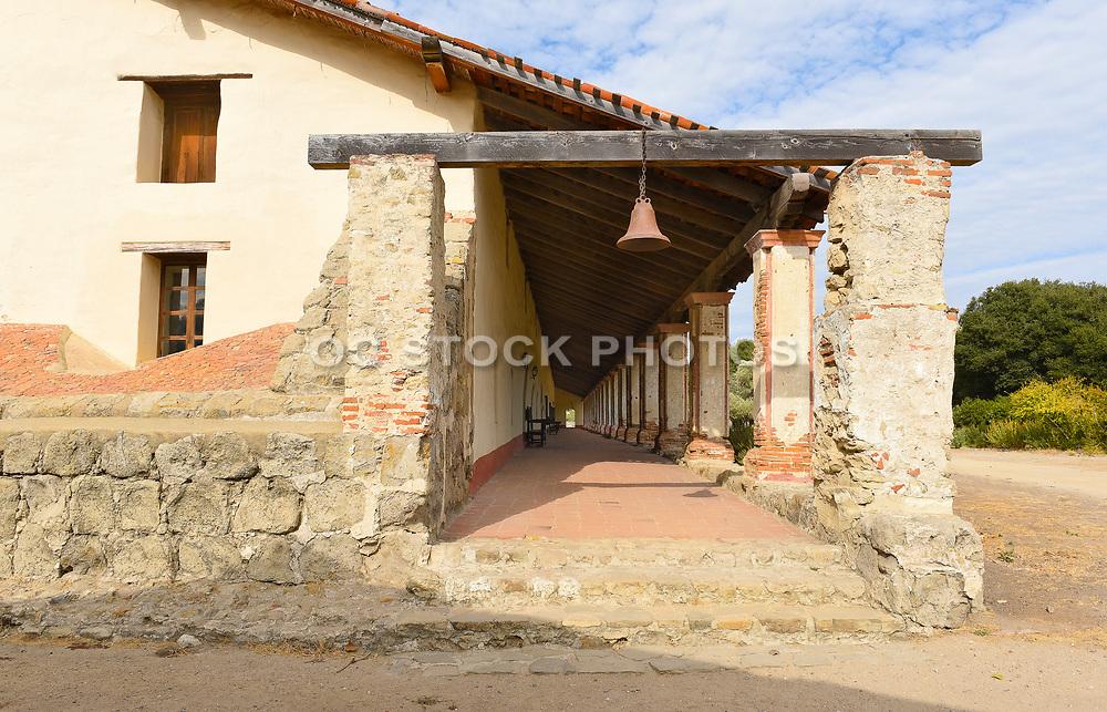 Walkway at Purisima Mission